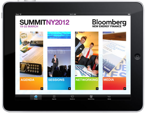 Bloomberg NEFS - iPad Home