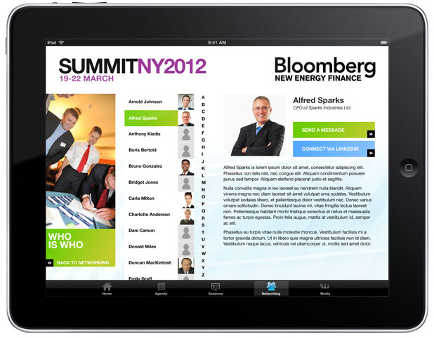 Bloomberg NEFS - iPad Speakers