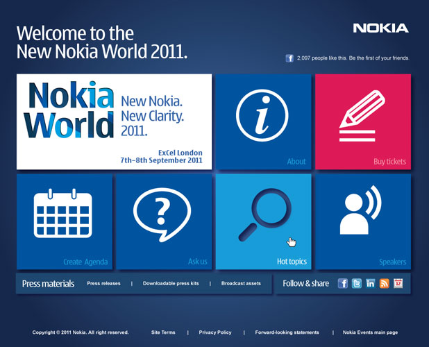 Nokia World Concept
